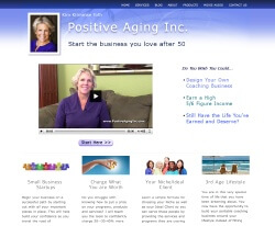 Positive Aging Inc. Home Page