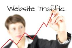 website traffic image